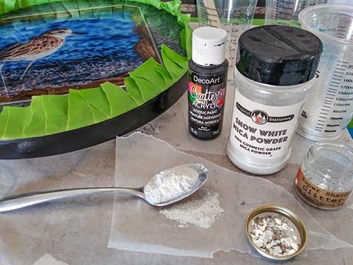 epoxy mixture